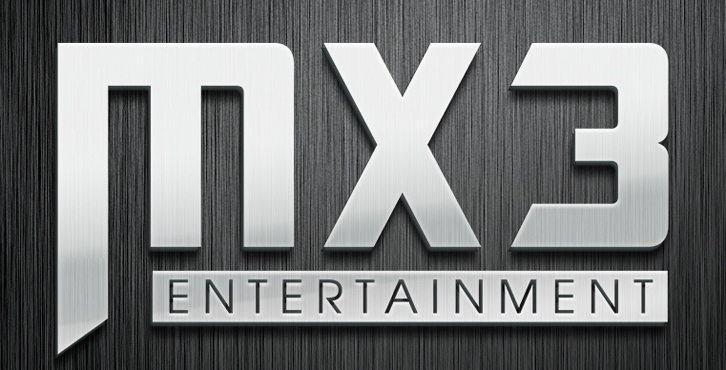 MX3 Entertainment Logo